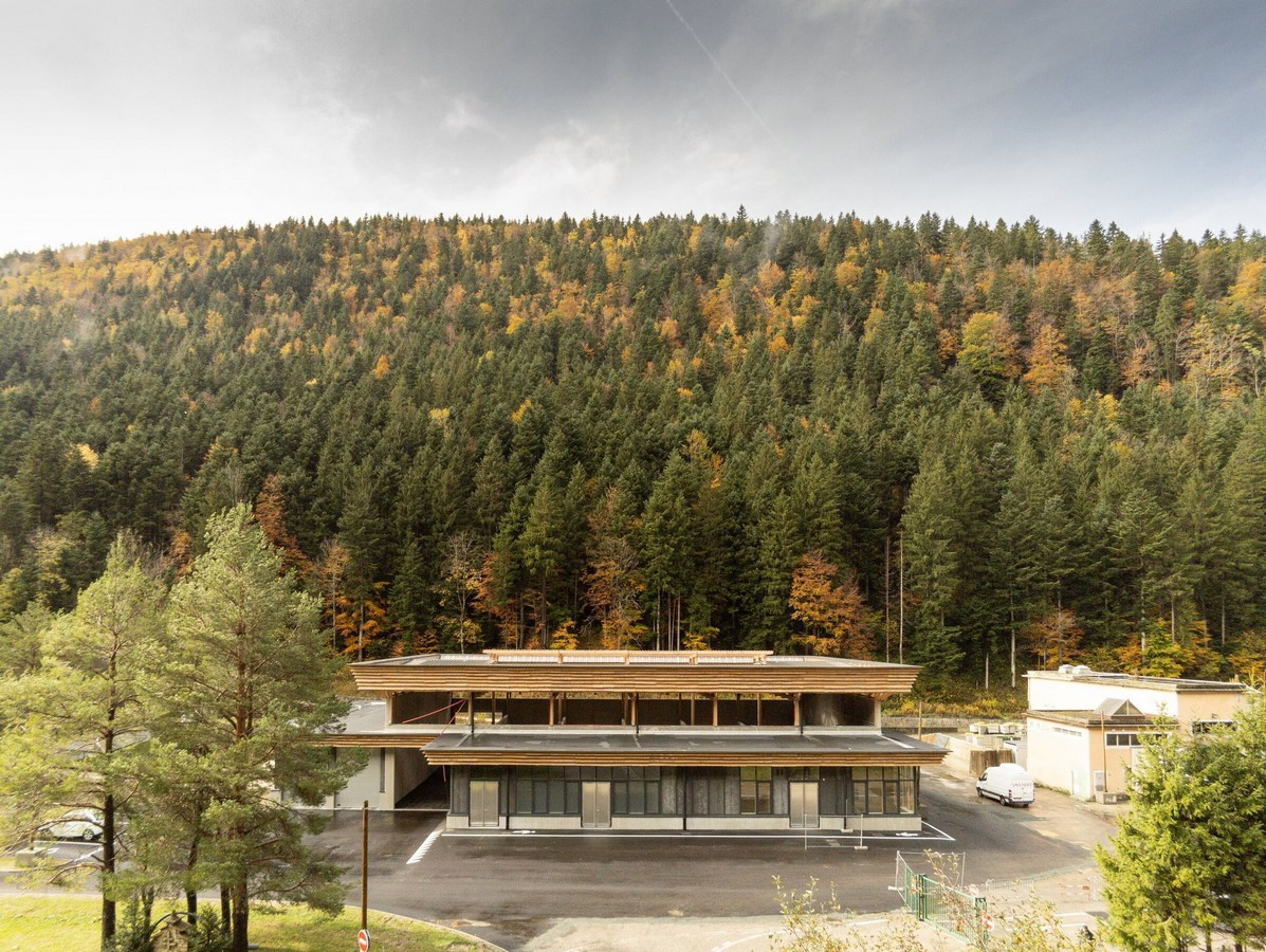 Eco-site with technical infrastructure in Vercors National Park, France designed by Atelier PNG - Sheet2