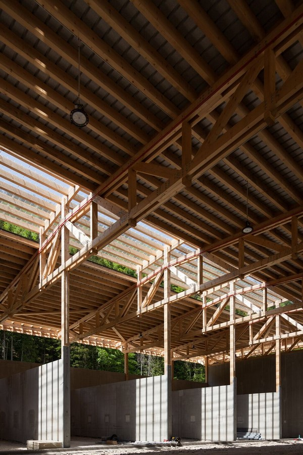 Eco-site with technical infrastructure in Vercors National Park, France designed by Atelier PNG - Sheet4