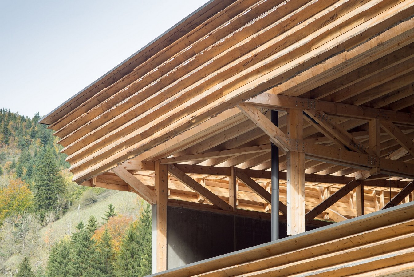 Eco-site with technical infrastructure in Vercors National Park, France designed by Atelier PNG - Sheet7