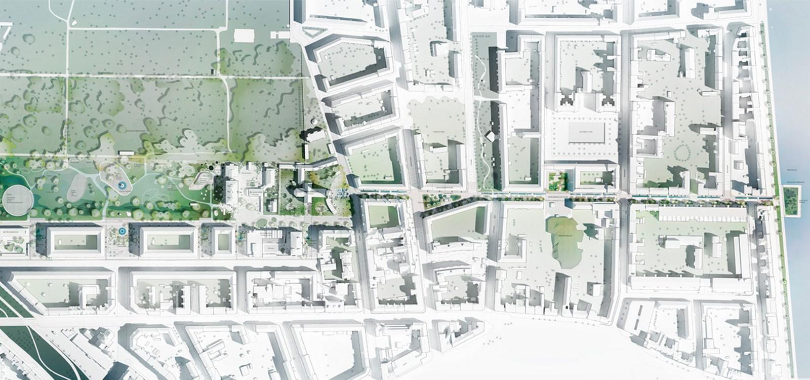 Hans Tavsens Park and Korsgade - Sheet2