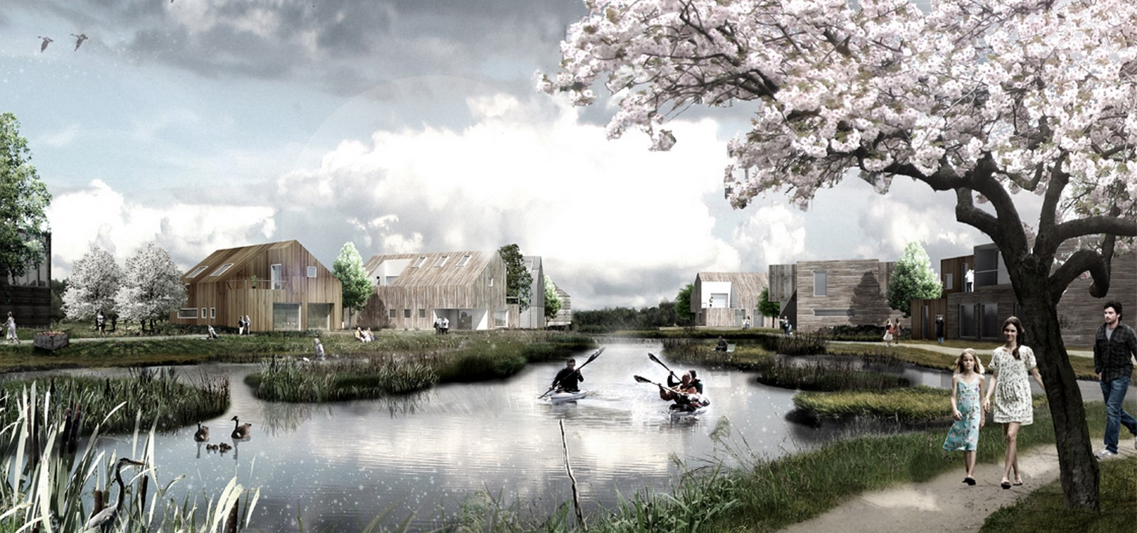 The Delta District in the future city of Vinge - Sheet2