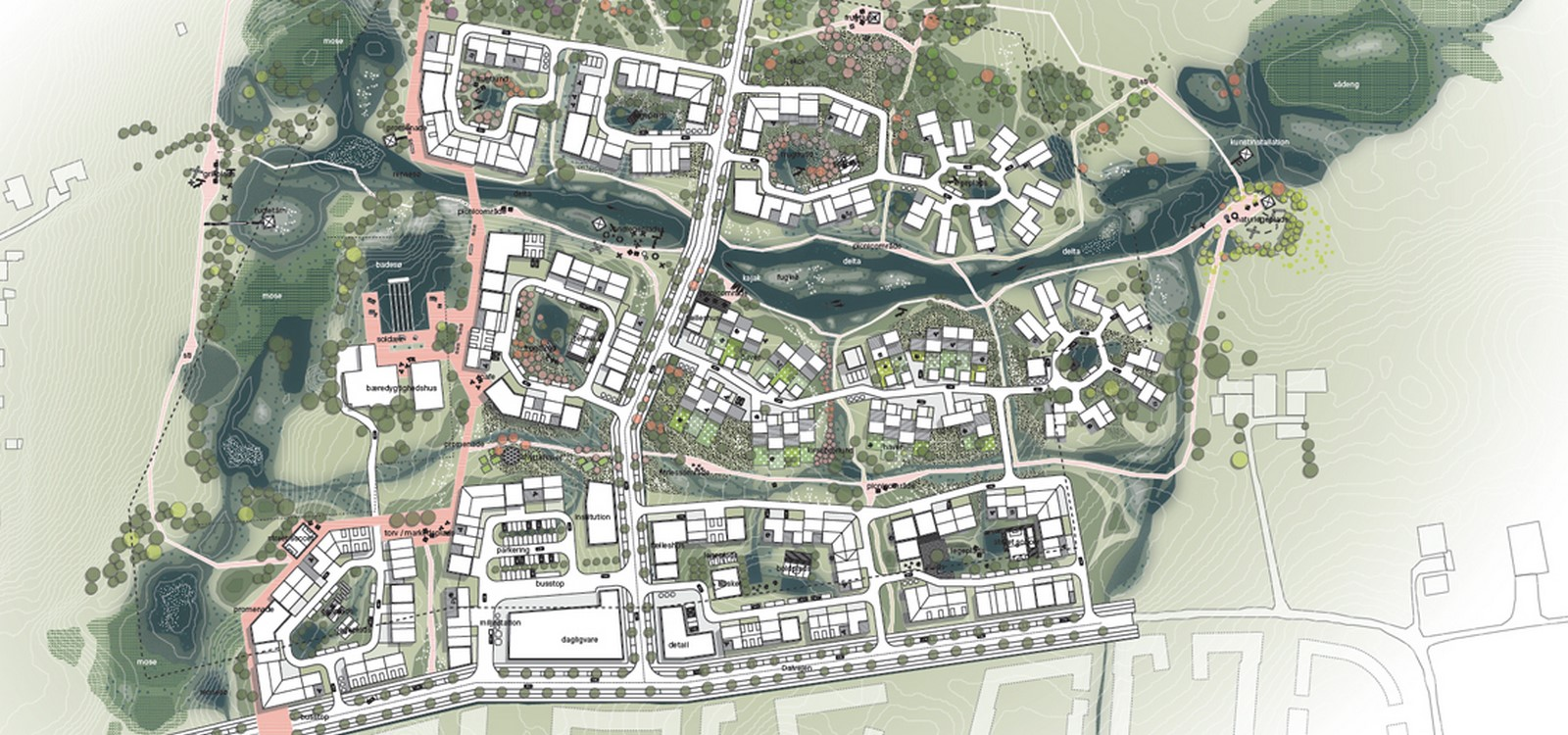 The Delta District in the future city of Vinge - Sheet3
