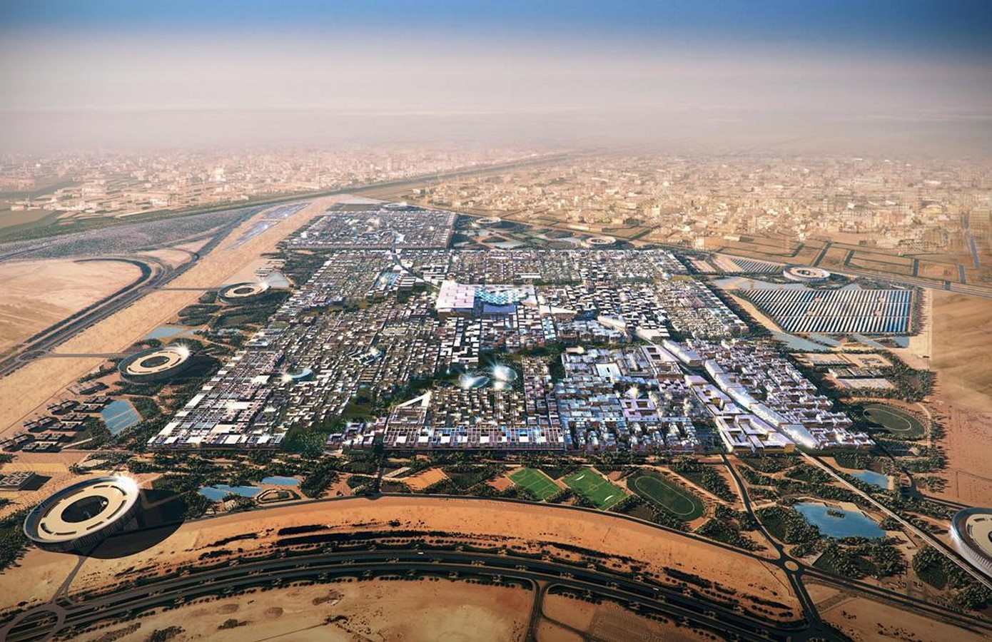Masdar City: The first sustainable city - Sheet1