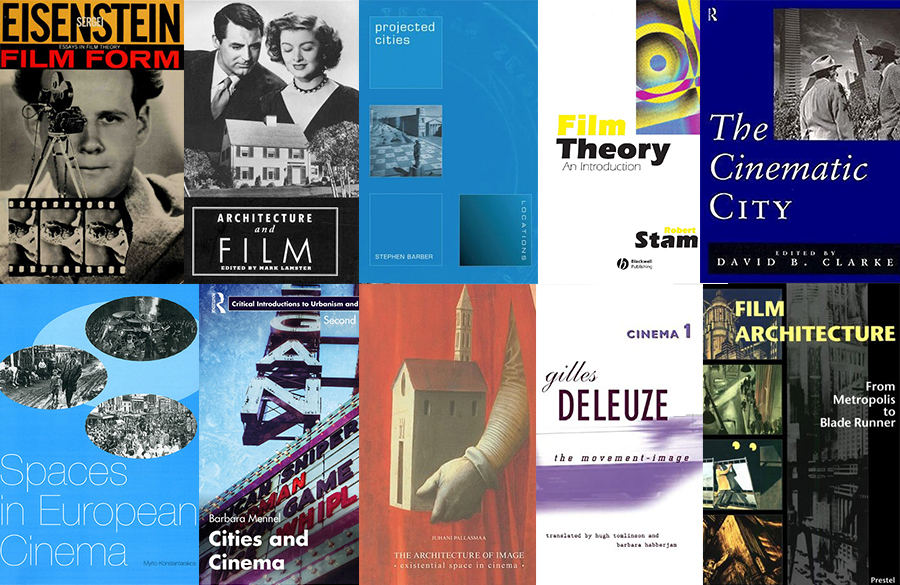 10 Books on Architecture in cinema every architect must read