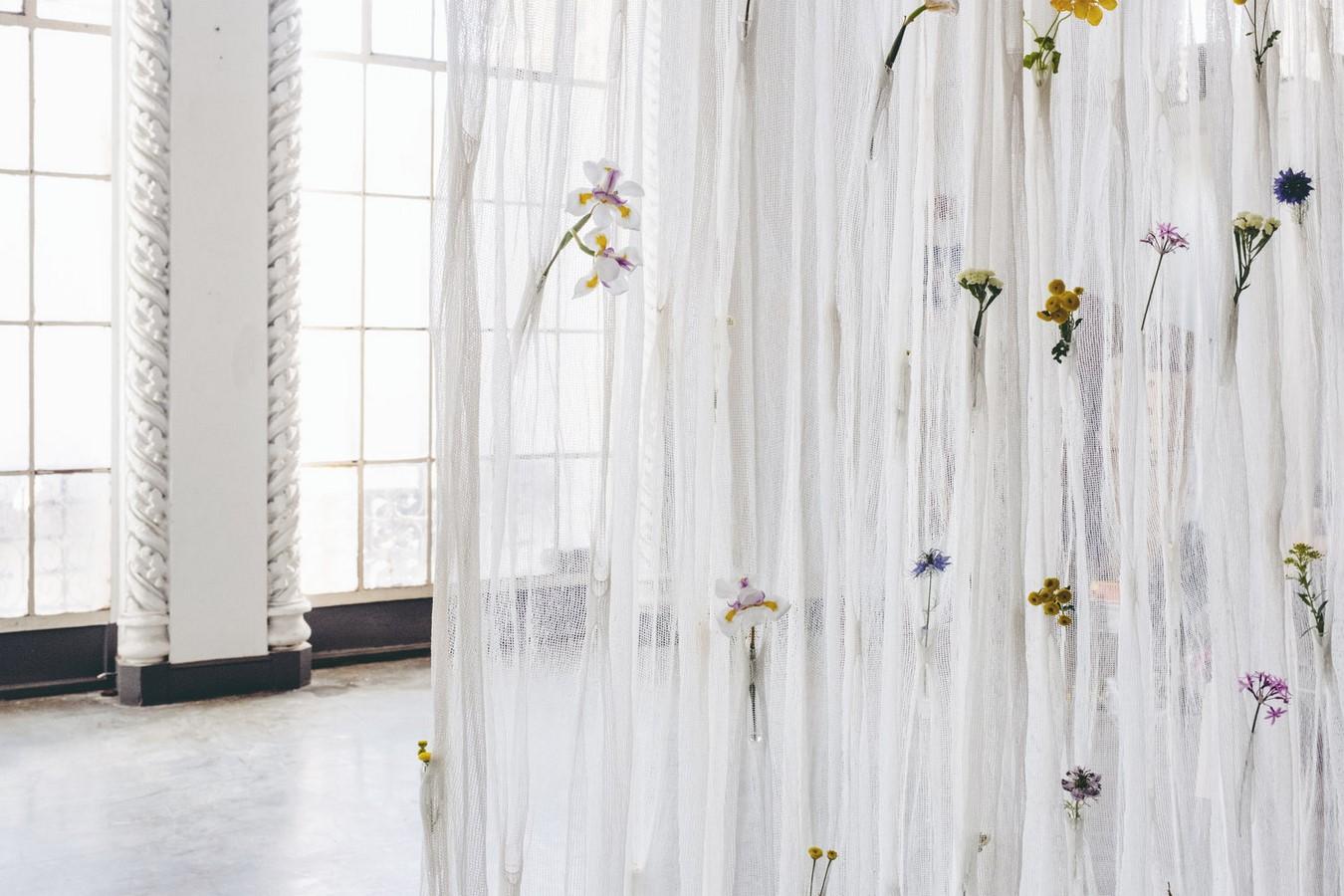 Draped Flowers (Curtain) - Sheet2