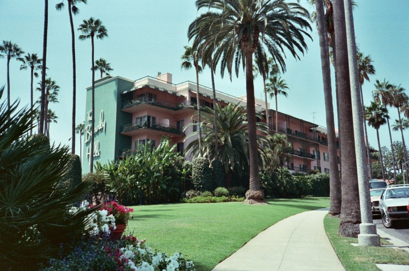 The Beverly Hills Hotel (1947 onwards, additional works) - Sheet2