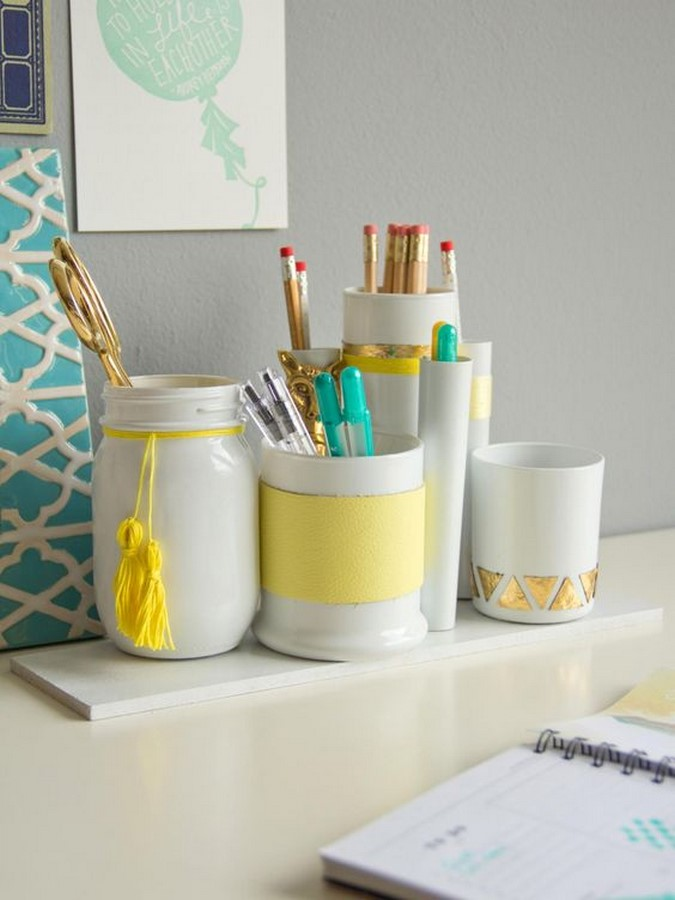 40 DIY Projects you need to try for organising - Sheet16