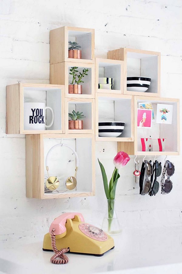 40 DIY Projects you need to try for organising - Sheet22