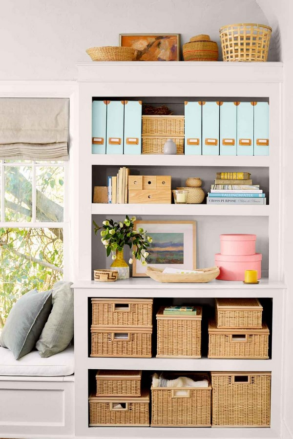 40 DIY Projects you need to try for organising - Sheet7