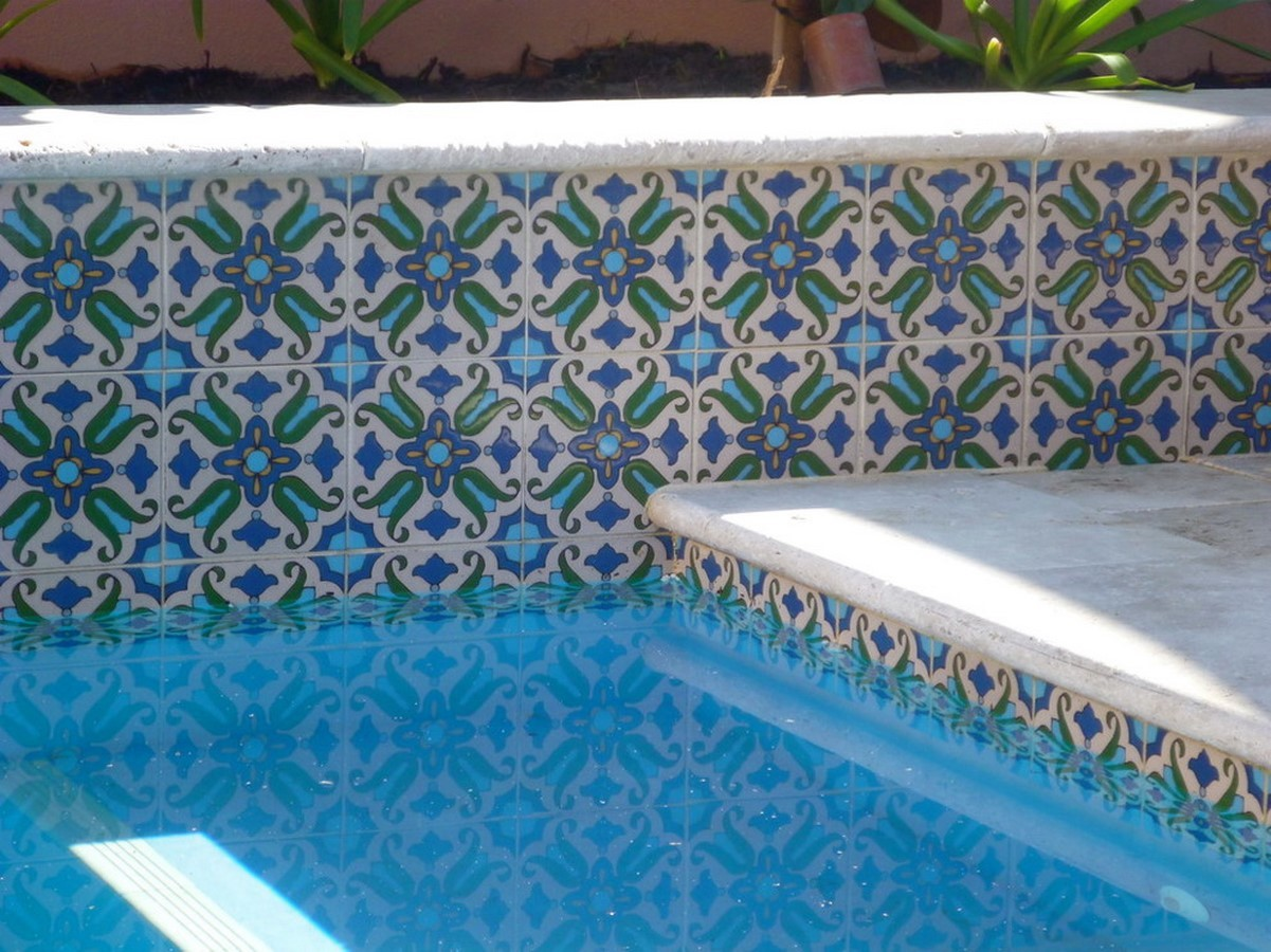 25 flooring patterns for Swimming Pools - Sheet11