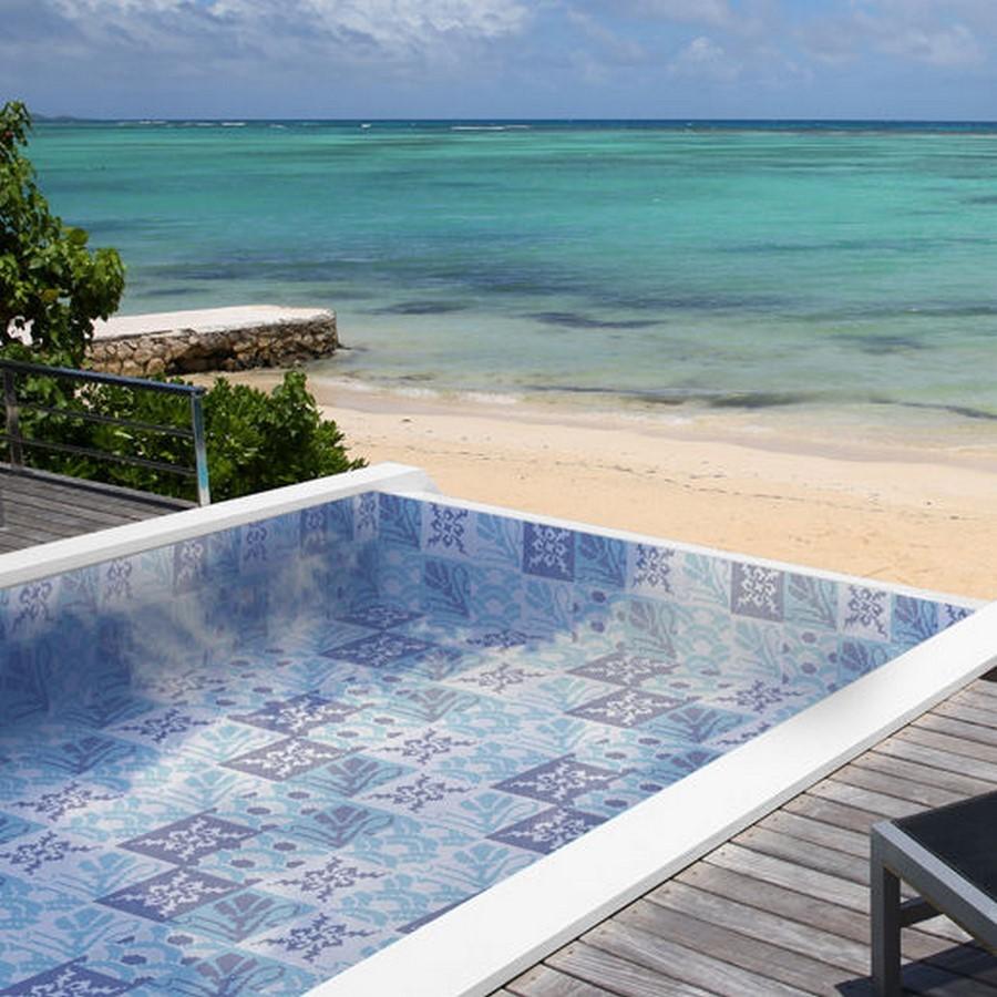 25 flooring patterns for Swimming Pools - Sheet12