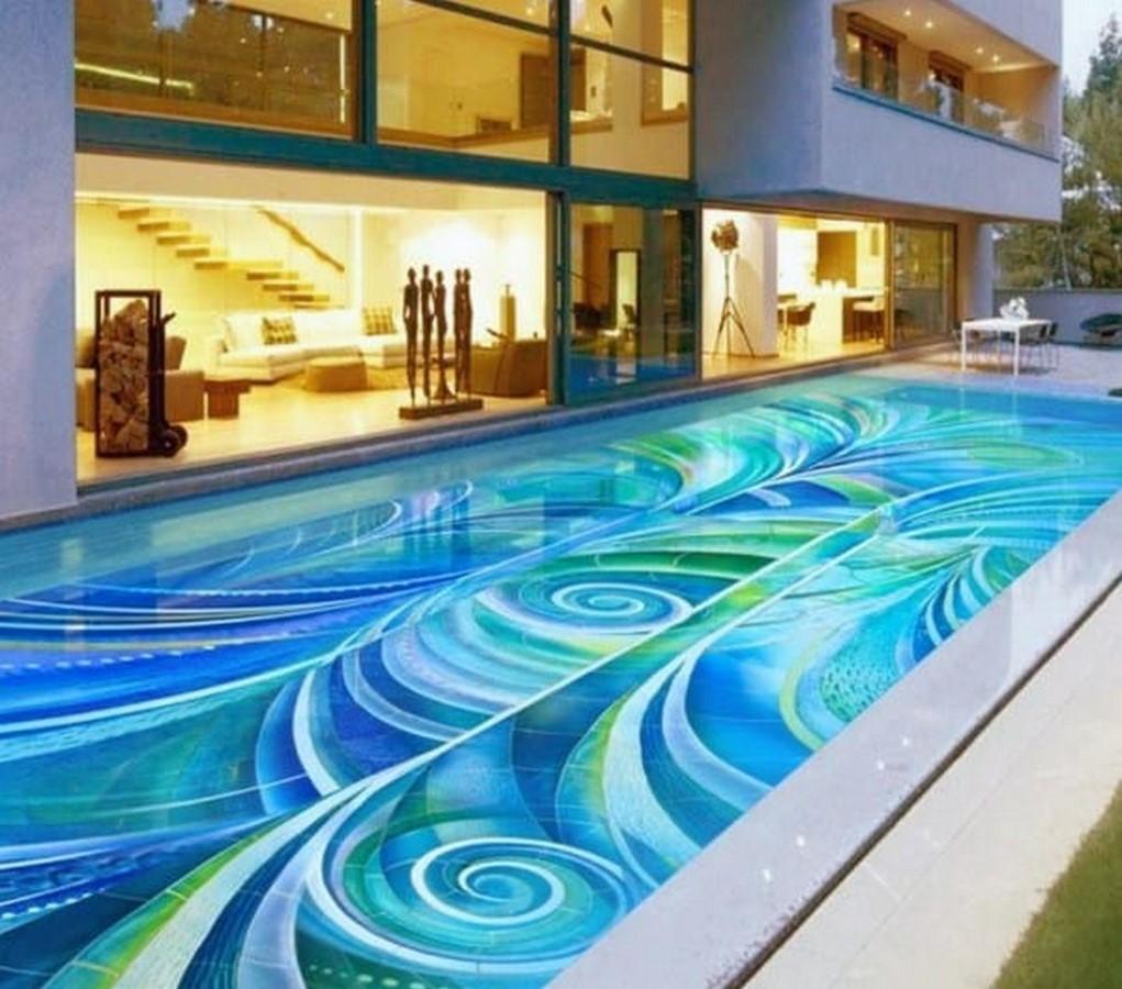 25 flooring patterns for Swimming Pools - Sheet13