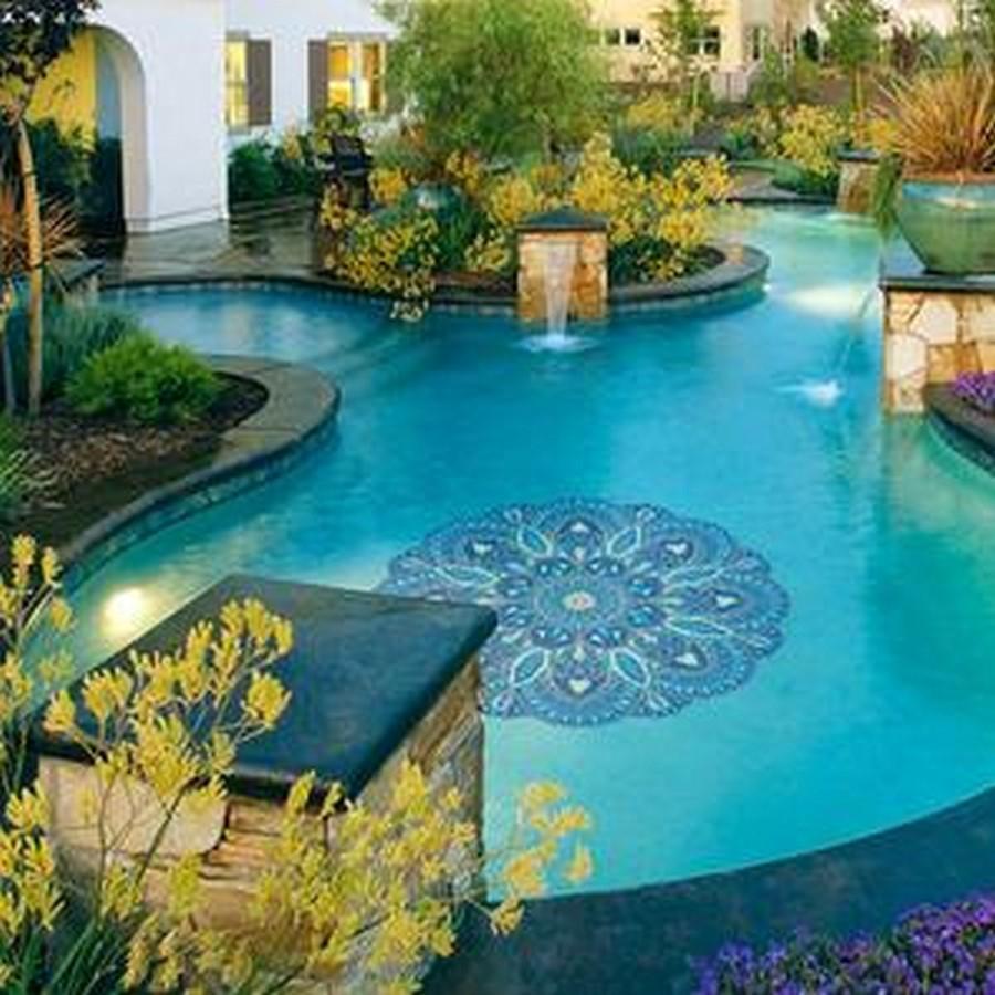 25 flooring patterns for Swimming Pools - Sheet25