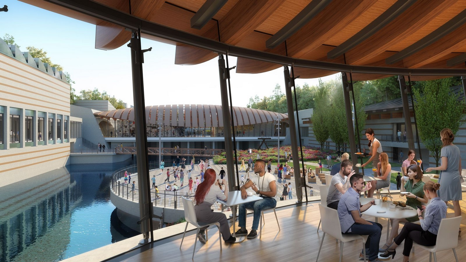 Crystal Bridges Museum Of American Art In Bentonville expansion plans revealed by Safdie Architects - Sheet10