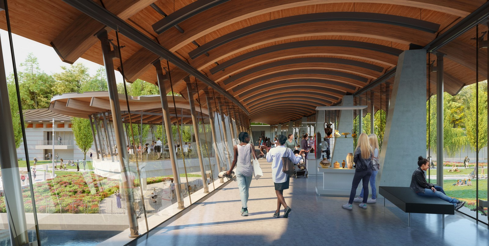 Crystal Bridges Museum Of American Art In Bentonville expansion plans revealed by Safdie Architects - Sheet11