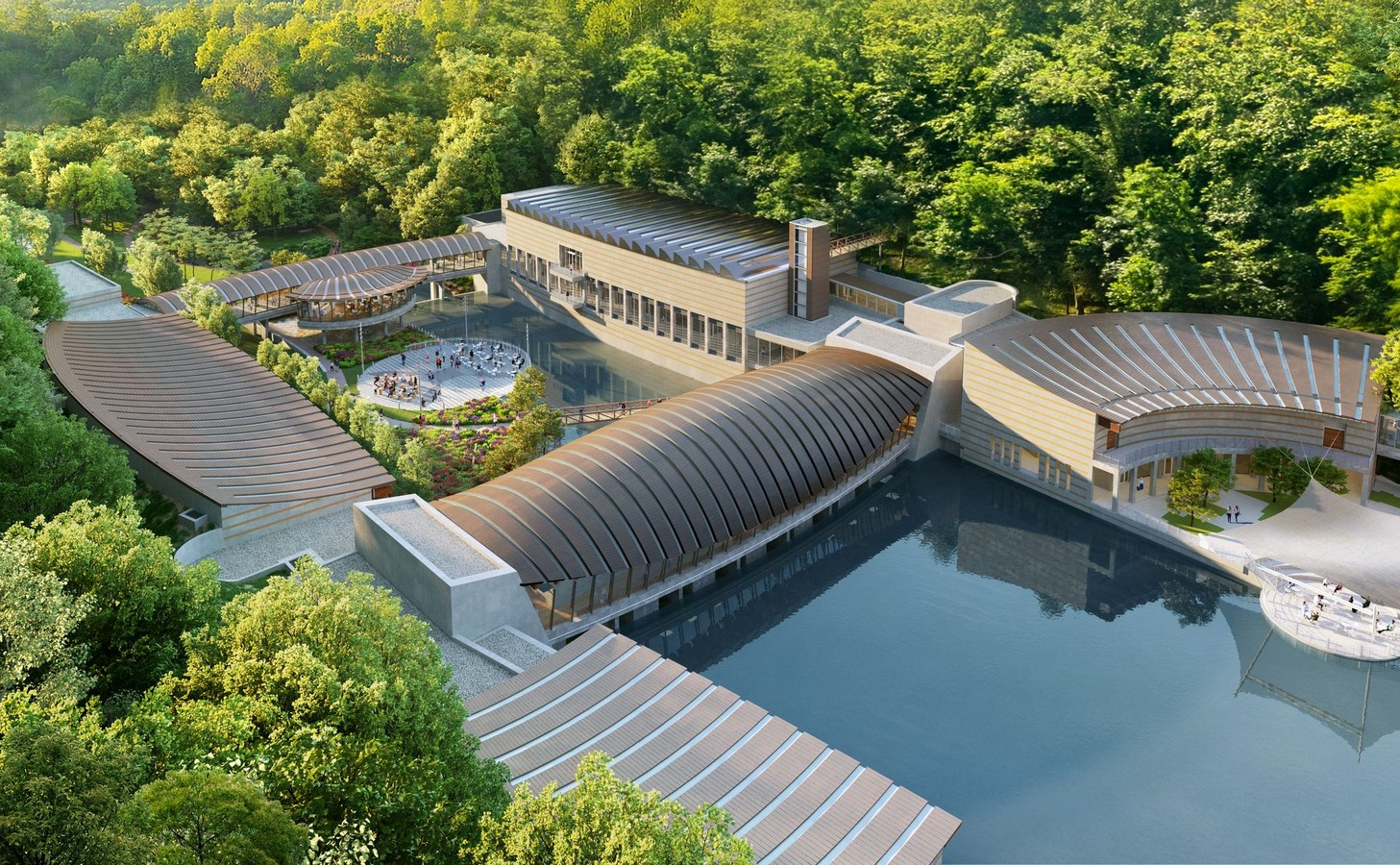 Crystal Bridges Museum Of American Art In Bentonville expansion plans revealed by Safdie Architects - Sheet2