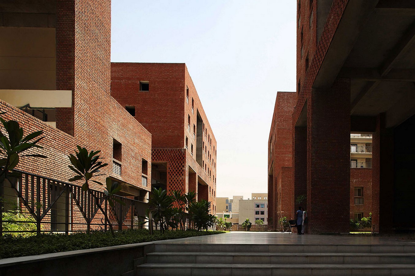 Housing Complex at Institute for Integrated Learning in Management by Morphogenesis- Inspired by Shahjahanabad settlement - Sheet3