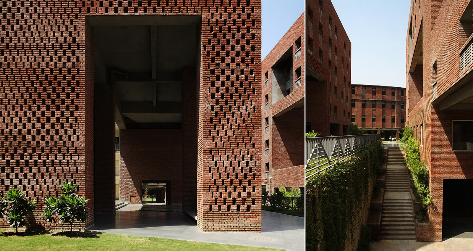 Housing Complex at Institute for Integrated Learning in Management by Morphogenesis- Inspired by Shahjahanabad settlement - Sheet5