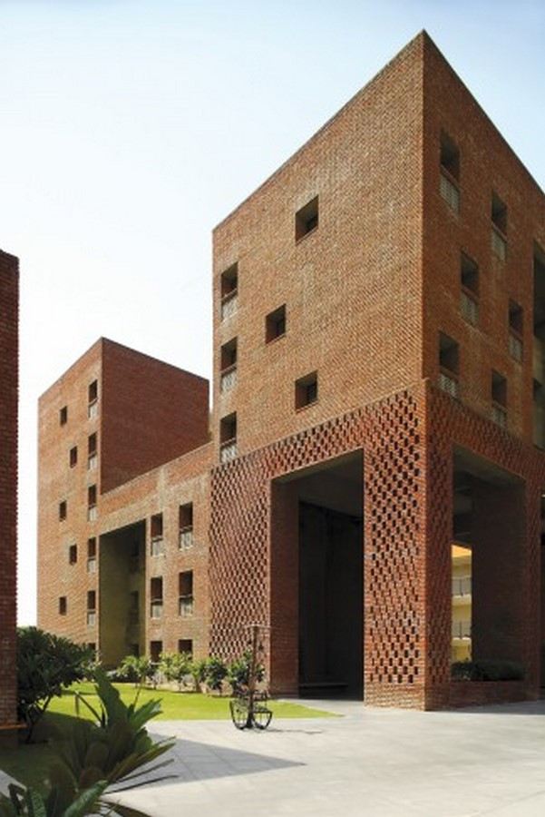 Housing Complex at Institute for Integrated Learning in Management by Morphogenesis- Inspired by Shahjahanabad settlement - Sheet8