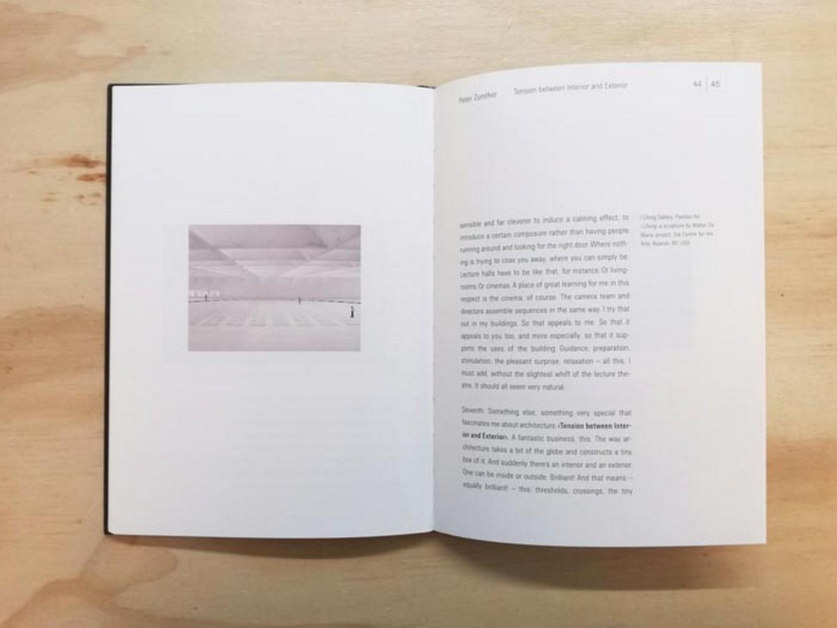 Book in Focus: Atmospheres by Peter Zumthor - Sheet5