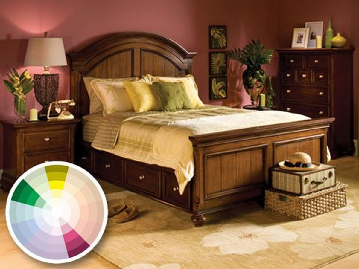 30 Examples of split complementary color scheme in Interiors - Sheet18