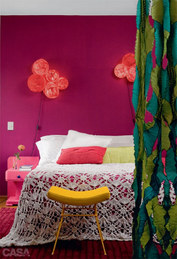 30 Examples of split complementary color scheme in Interiors - Sheet19