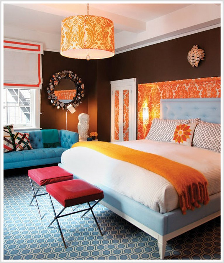 30 Examples of split complementary color scheme in Interiors - Sheet22