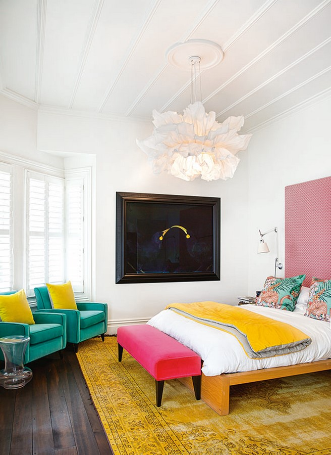 30 Examples of split complementary color scheme in Interiors - Sheet23