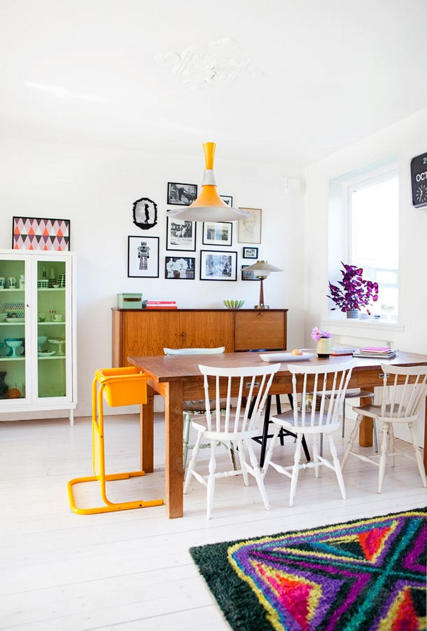 30 Examples of split complementary color scheme in Interiors - Sheet24