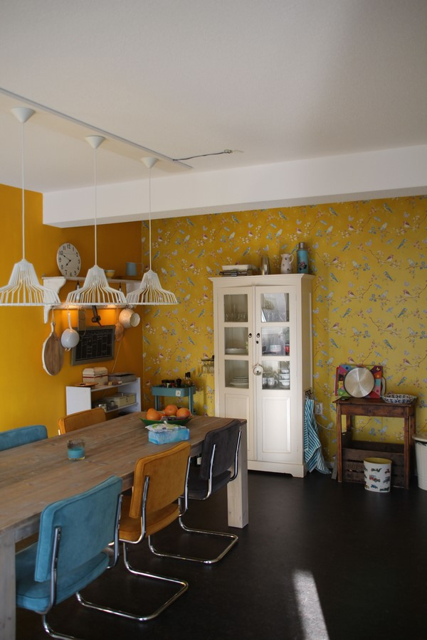 30 Examples of split complementary color scheme in Interiors - Sheet25