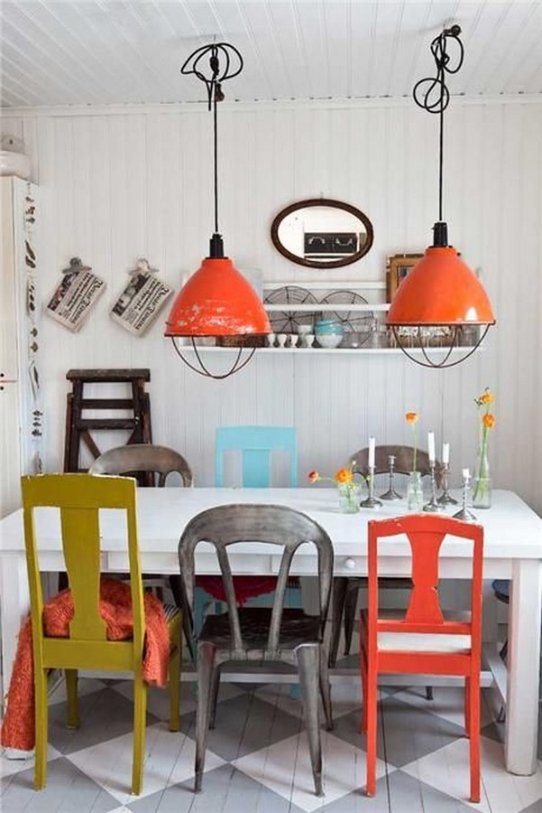 30 Examples of split complementary color scheme in Interiors - Sheet27