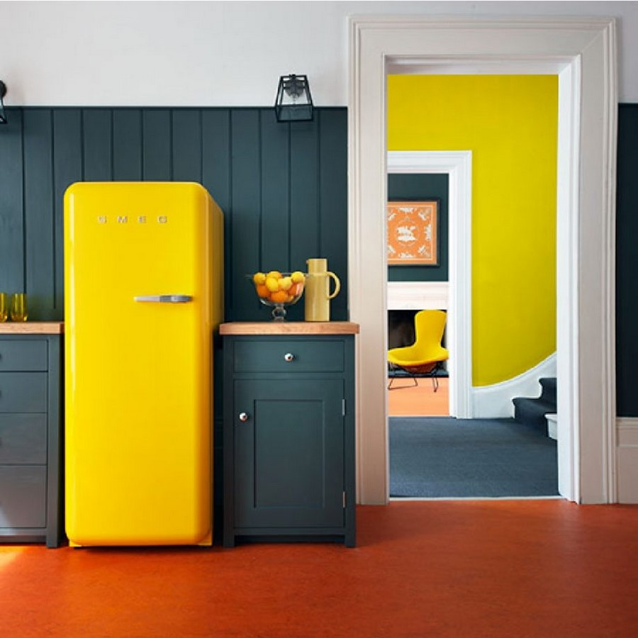 30 Examples of split complementary color scheme in Interiors - Sheet28
