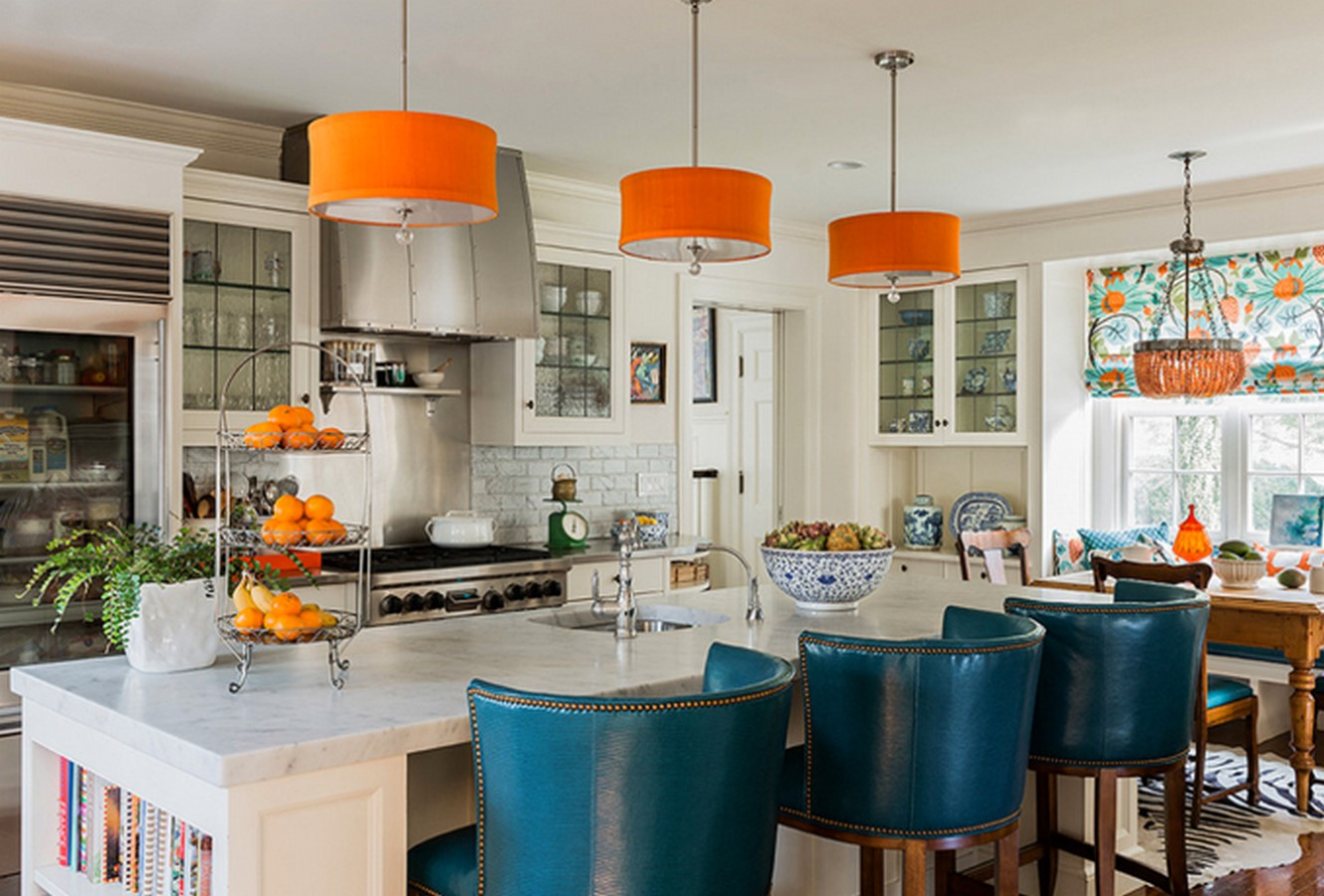 30 Examples of split complementary color scheme in Interiors - Sheet30