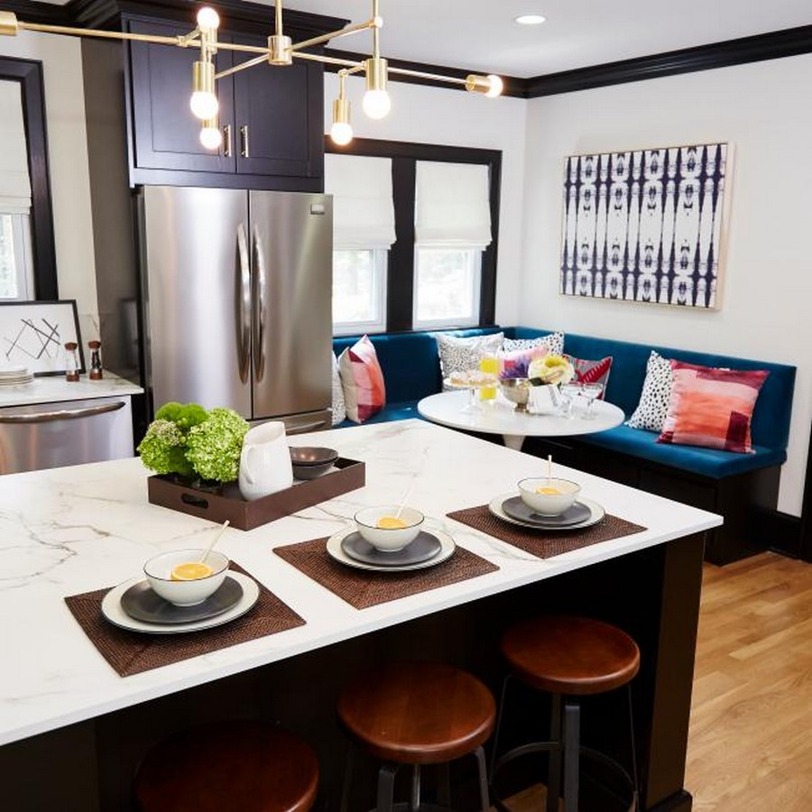 30 Examples of split complementary color scheme in Interiors - Sheet31