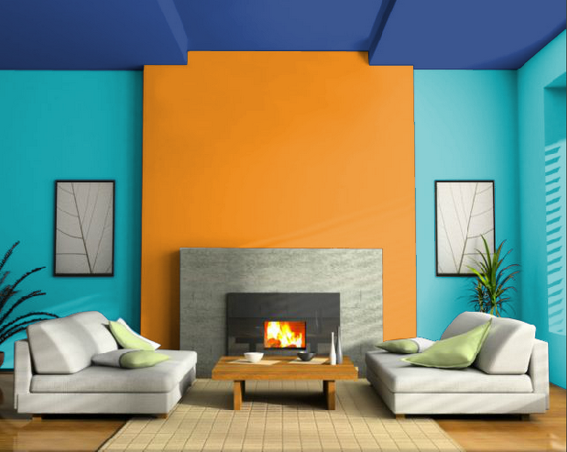 30 Examples of split complementary color scheme in Interiors - Sheet4