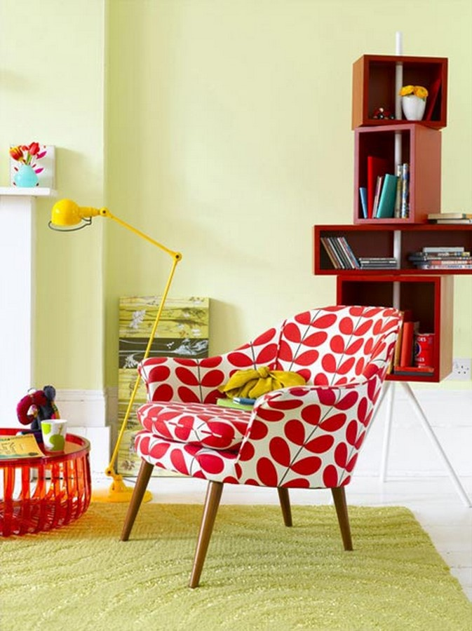 30 Examples of split complementary color scheme in Interiors - Sheet9