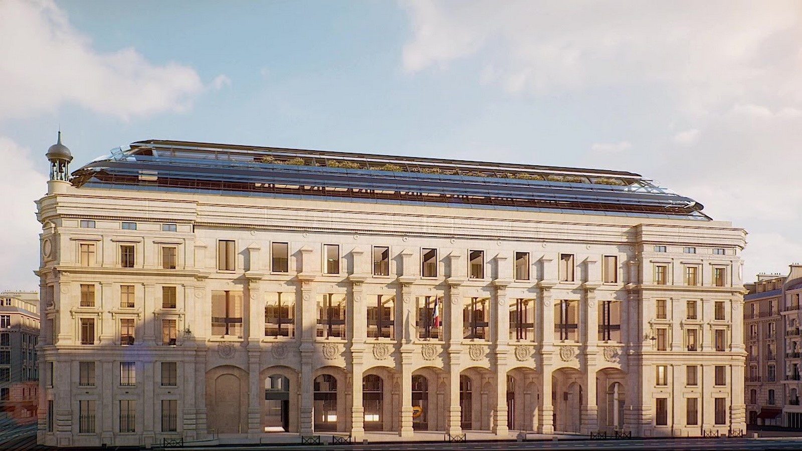 Paris' Industrial Post Office Building converted into A Mixed-Use Block by Dominique Perrault Architecture - Sheet2