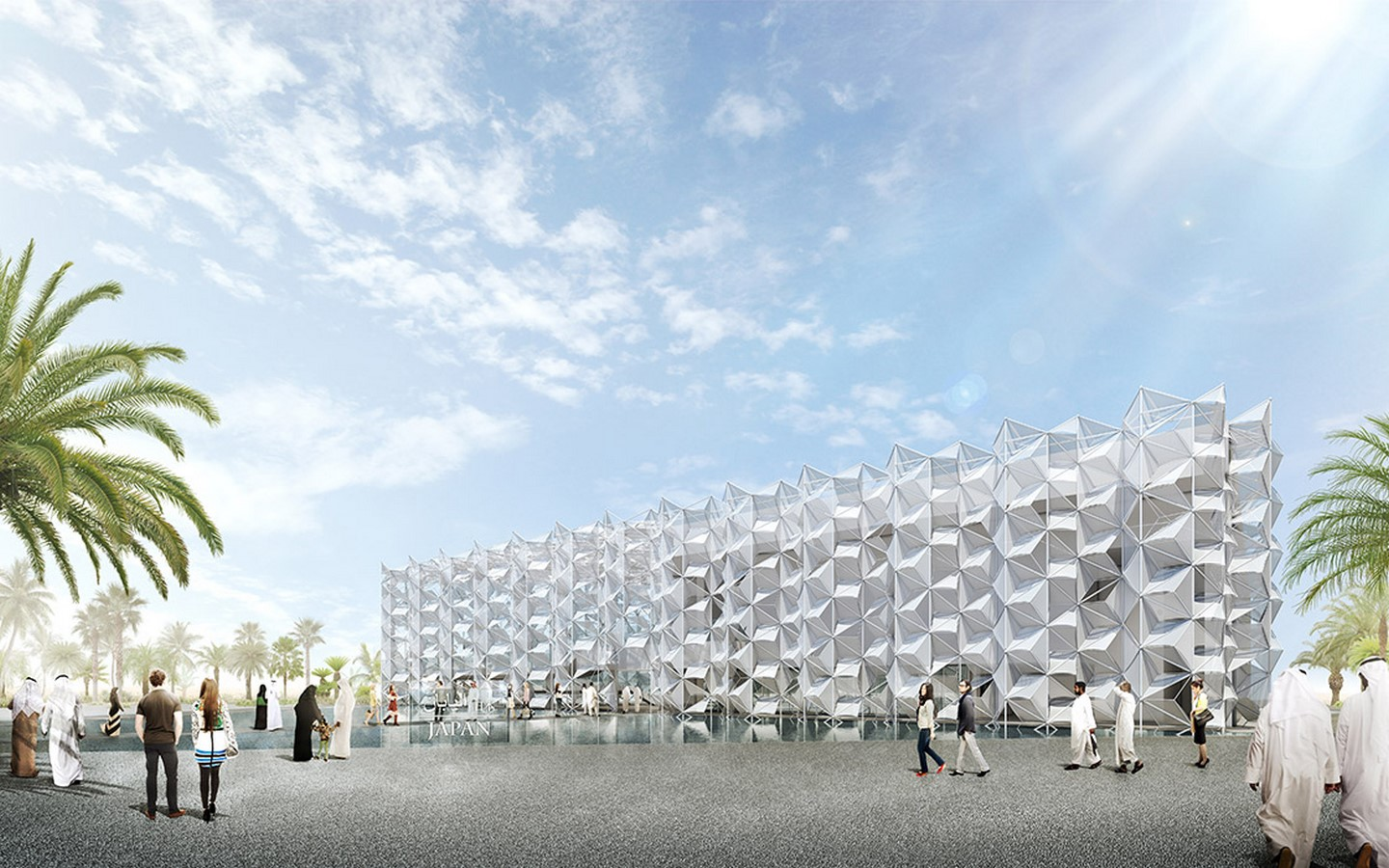 An Intricate Tridimensional Facade for Expo 2020 Dubai revealed by the Japan Pavilion - Sheet6