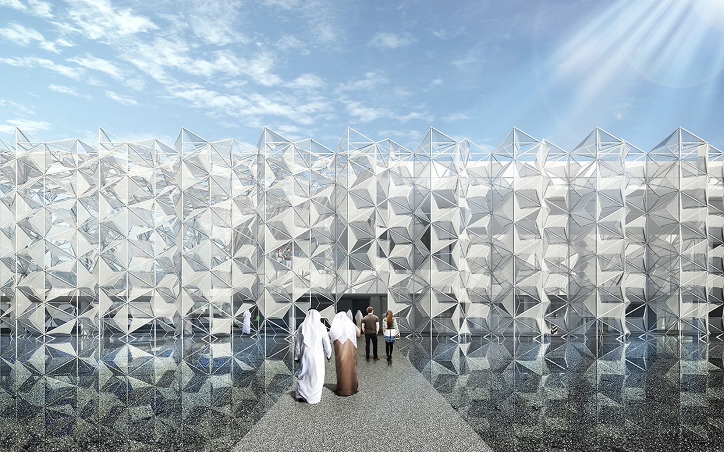 An Intricate Tridimensional Facade for Expo 2020 Dubai revealed by the Japan Pavilion - Sheet7