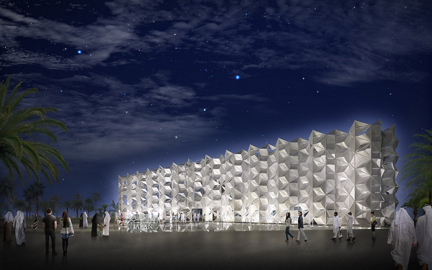 An Intricate Tridimensional Facade for Expo 2020 Dubai revealed by the Japan Pavilion - Sheet8