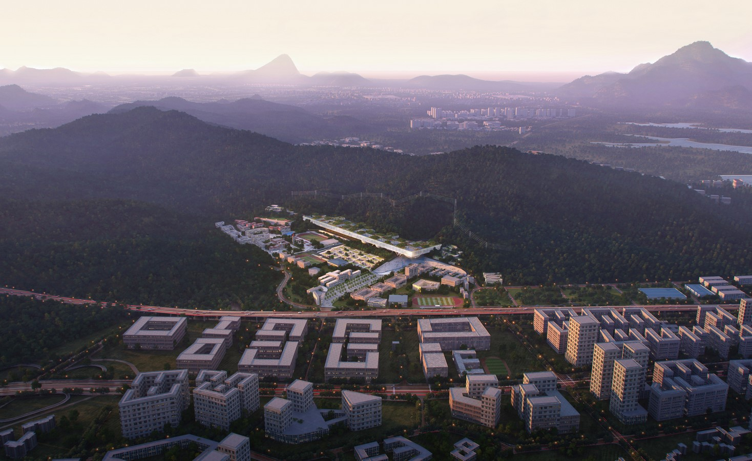 Shenzhen Institute Of Design And Innovation to be designed by Dominique Perrault Architecture - Sheet2