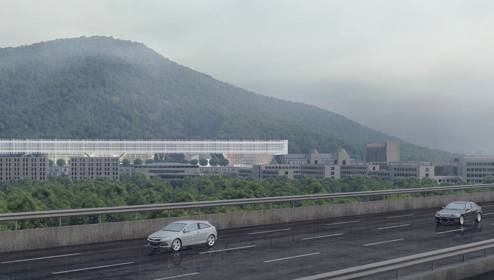 Shenzhen Institute Of Design And Innovation to be designed by Dominique Perrault Architecture - Sheet3