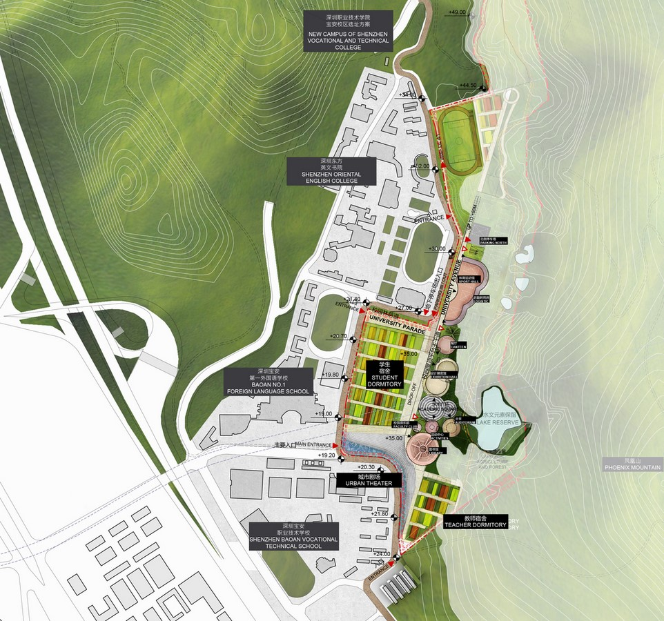 Shenzhen Institute Of Design And Innovation to be designed by Dominique Perrault Architecture - Sheet6