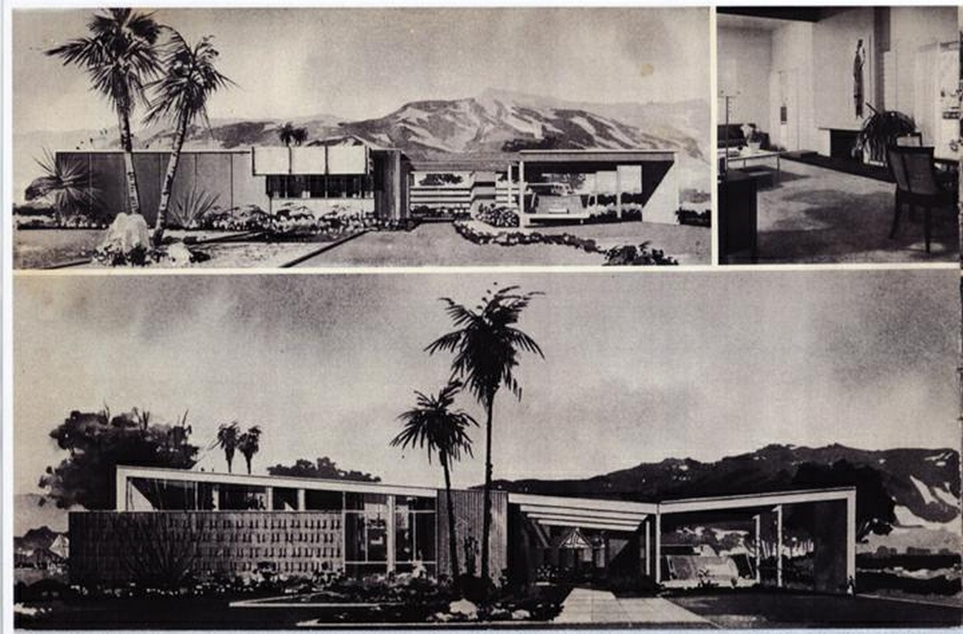 10 Examples of butterfly roofing in the Mid-Century Classic Architecture - Sheet3