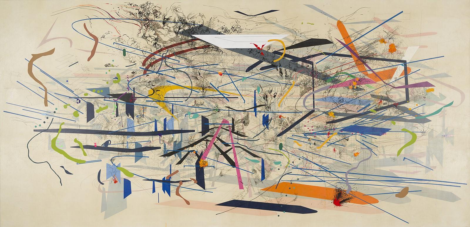 Daniel Mullen: Merging Art and Architecture through painting - Sheet15