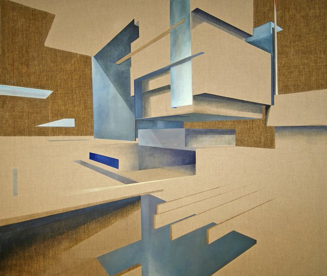 Daniel Mullen: Merging Art and Architecture through painting - Sheet5