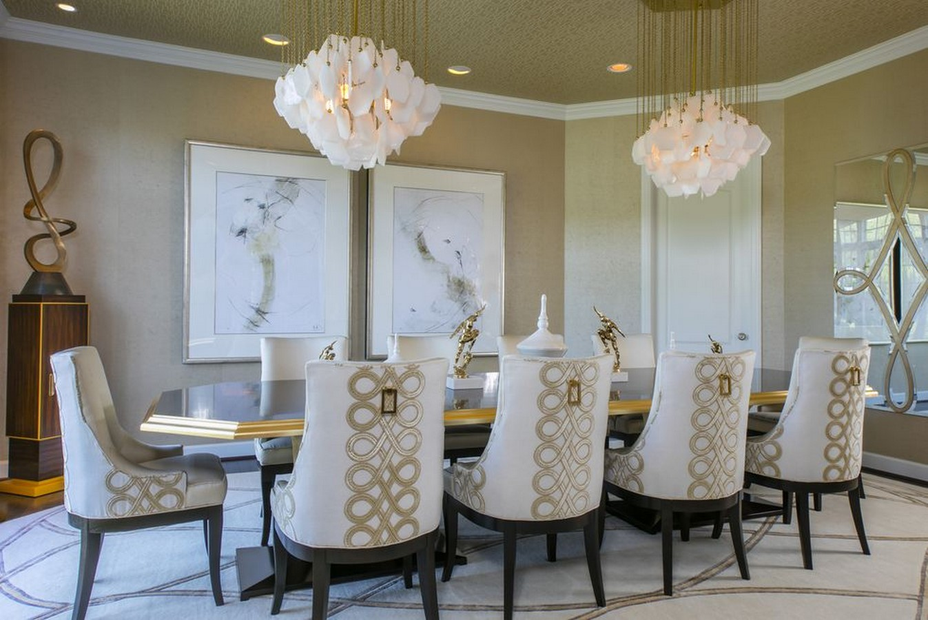 10 Dining rooms ideas that can enhance the space - Sheet13
