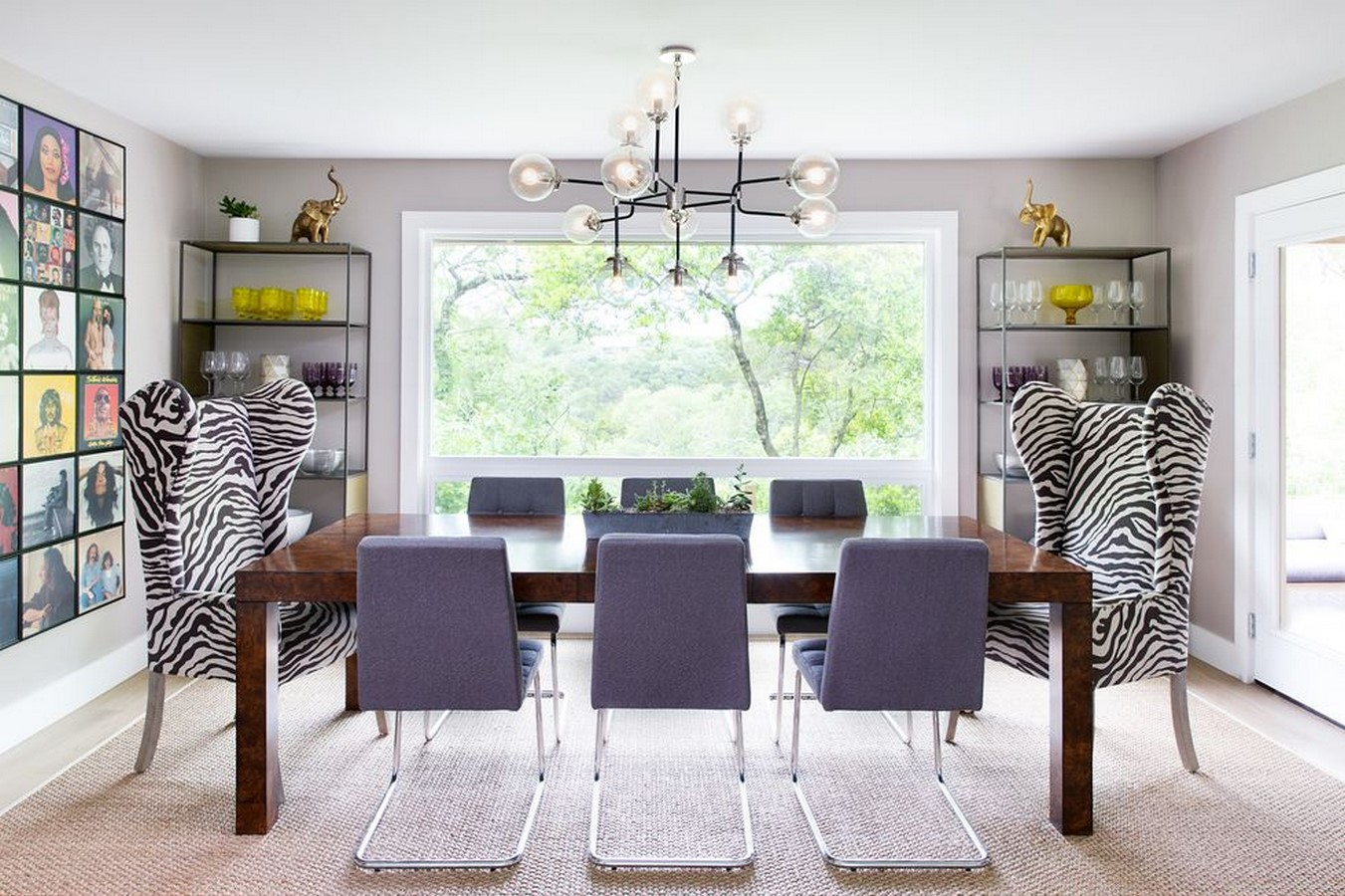 10 Dining rooms ideas that can enhance the space - Sheet16