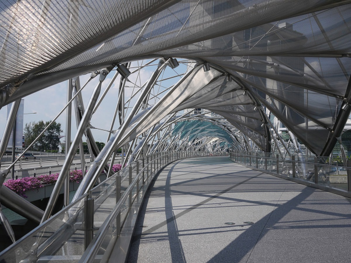Helix Bridge by Architects 61: Inspired by DNA - Sheet3