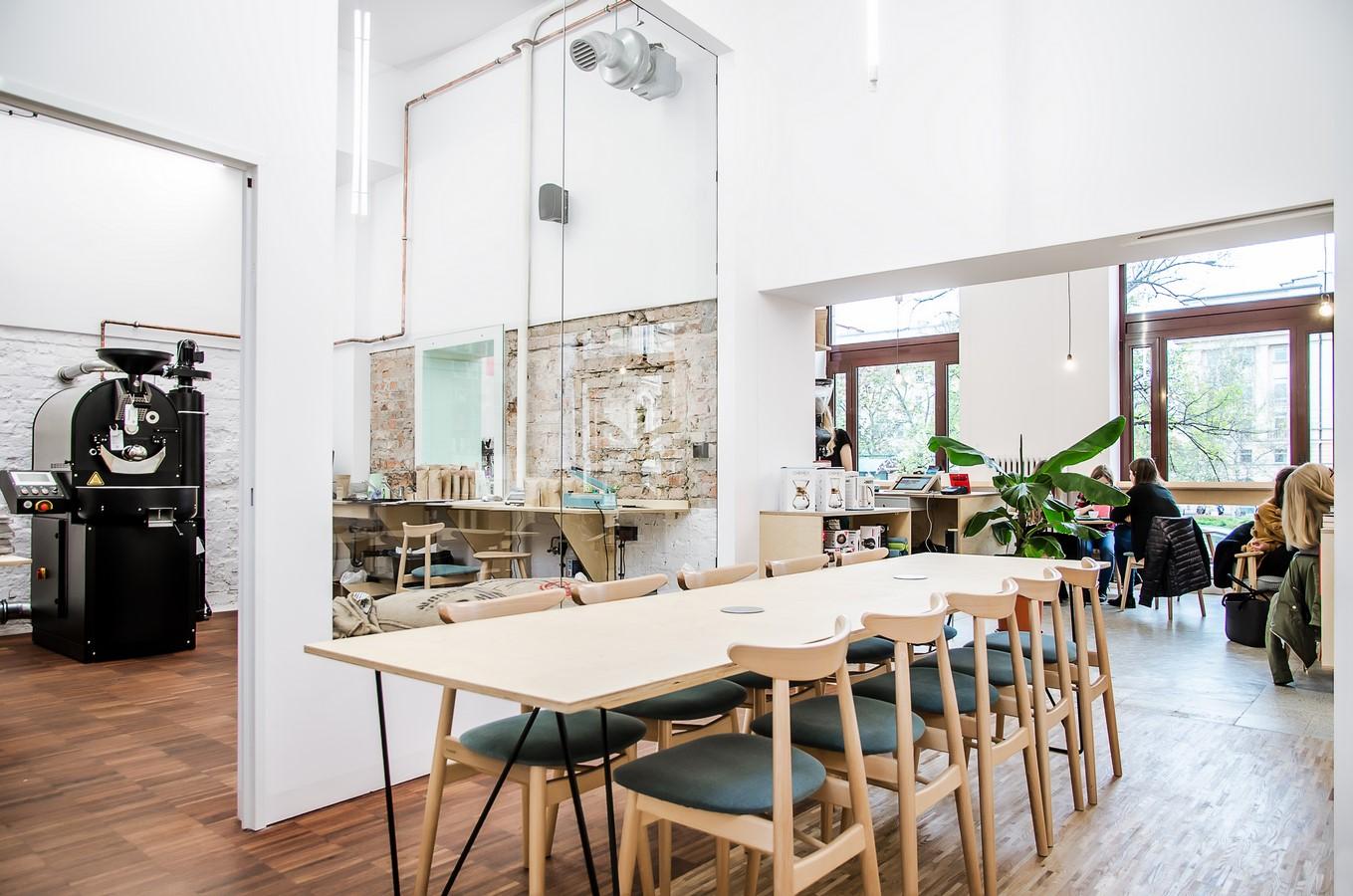 Coffee house and bookshop Kahawa by Atelier Starzak Strebicki - Sheet3